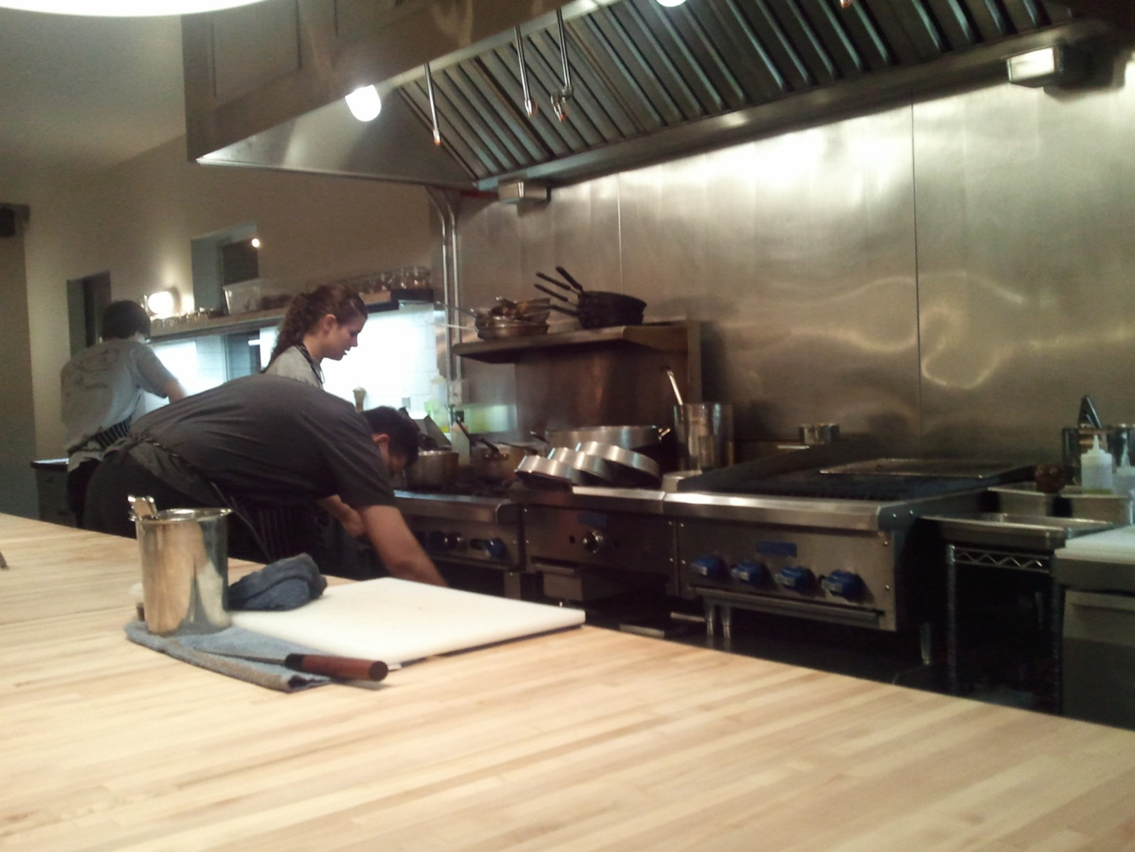 Restaurant Kitchen Table Review Revel Seattle Not Intent On Arriving