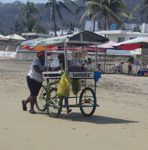Beach in Manzanillo